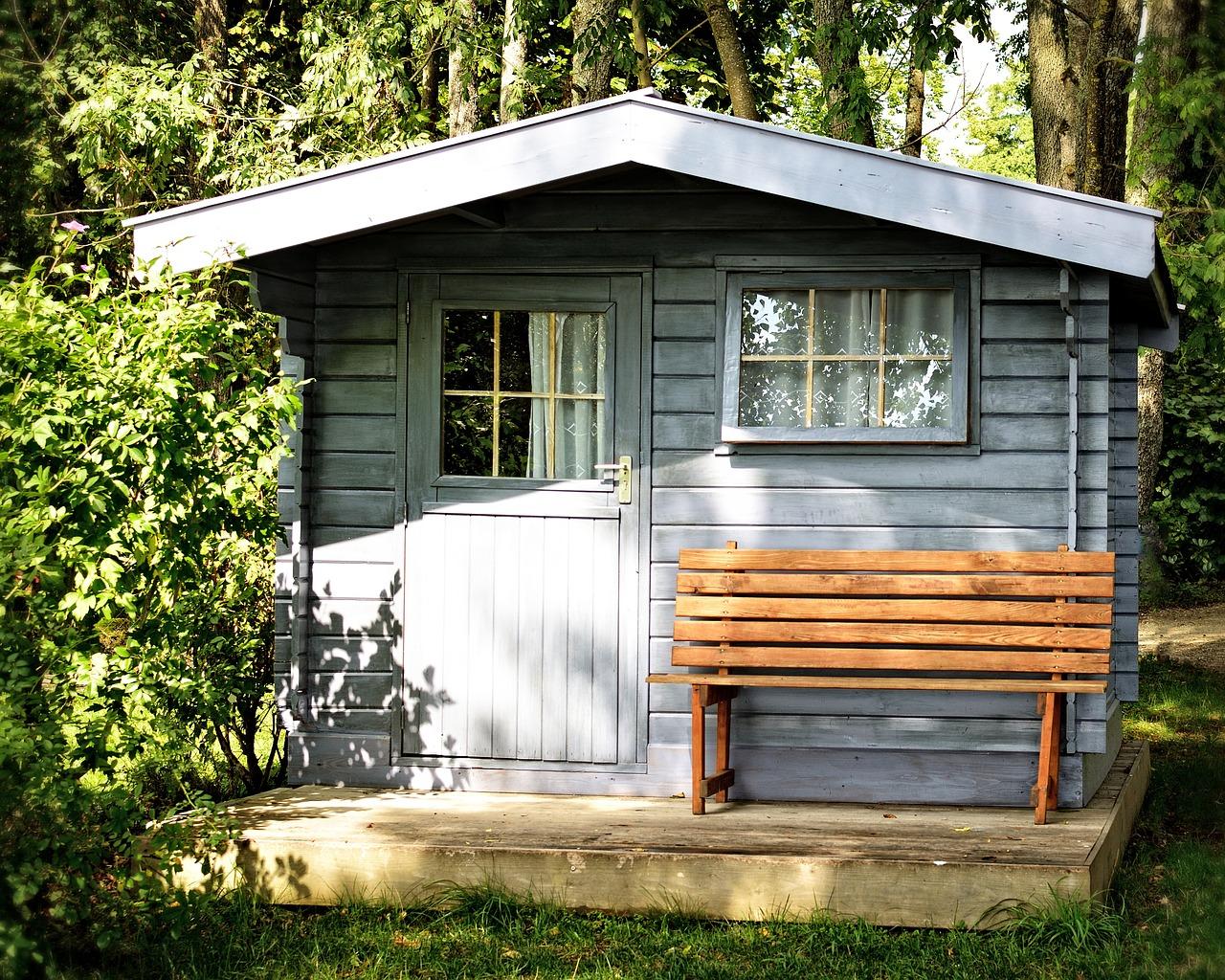 Ein Klassiker: Gartenhäuser aus Holz